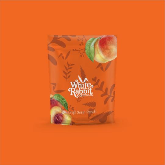 Sour peach bag